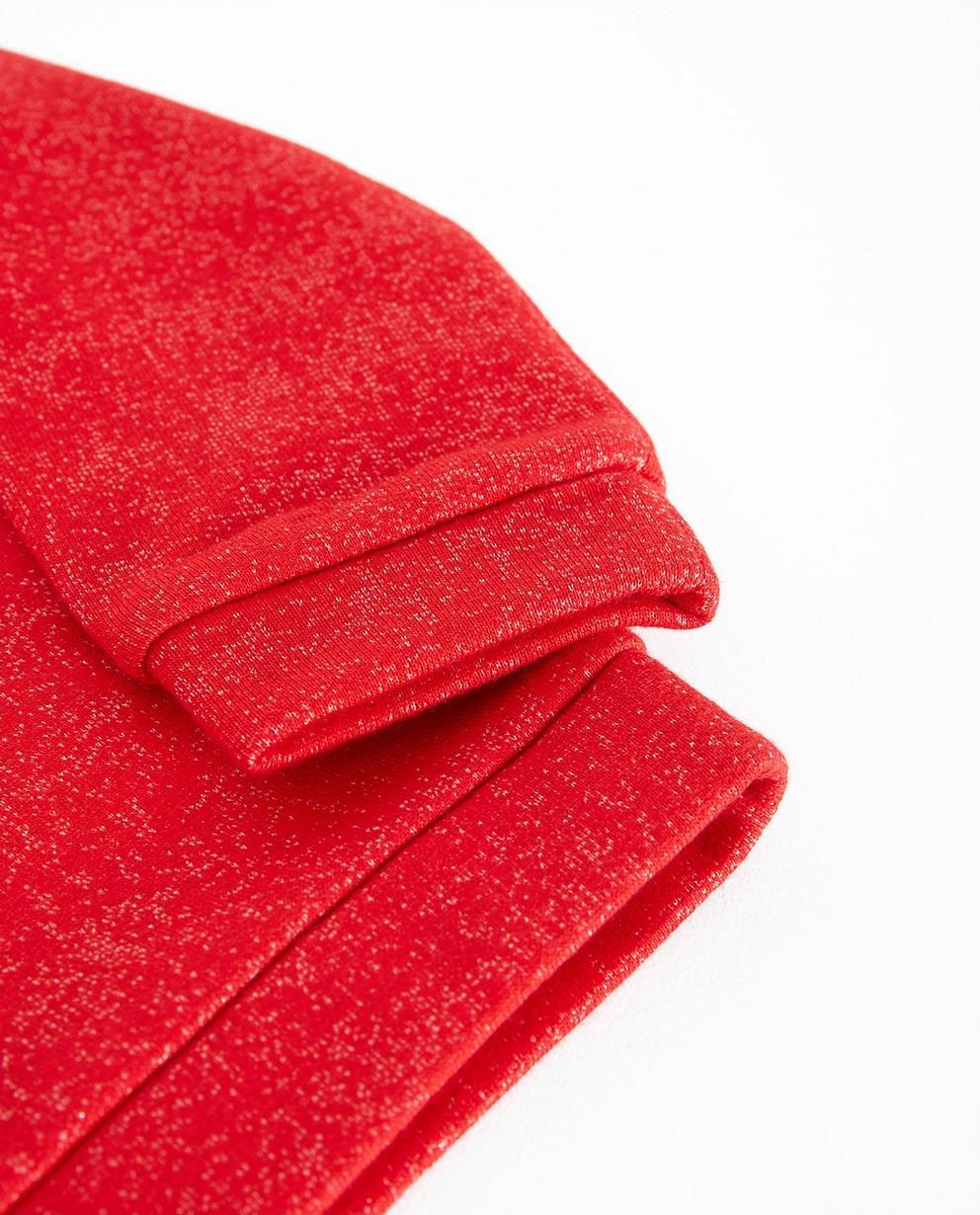 Sweater - Pflaume - Rode sweater met print Samson